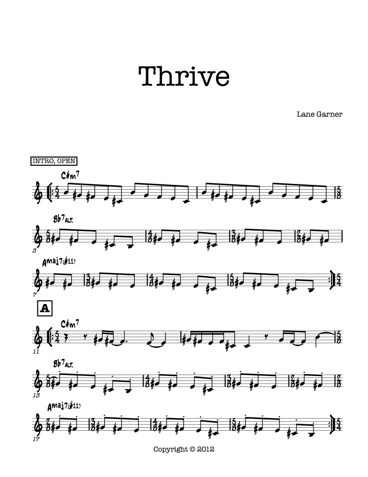 Thrive page 1